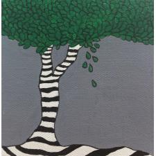 Baum gestreift