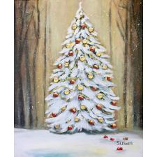 Weihnachtsbaum, braun