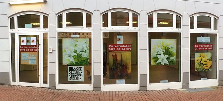 Bilder sind wieder im Atelier - nicht mehr in der Alfred-Trappen-Straße 9