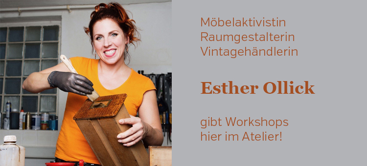 Esther Ollick Möbelaktivistin Workshop